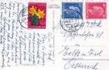 Souvenir D'ECHTERNACH (Luxemburg), Gel.1955, Seltene 3 Fach Frankierung - Ansichtskarten
