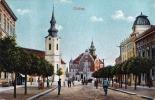 GÖDING (Böhmen) - Hauptplatz?, Strassenansicht, 1915 - Böhmen Und Mähren