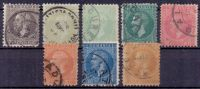 Rumänien Mi. 48-54 Gest. (€ 117,00) - Ansehen!! - 1858-1880 Moldavia & Principality
