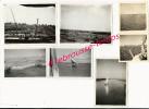 N°11-oct. 1945-7 Photos-A Bord Du Porte-avions Le Béarn-canal De Suez- Côté Asie - Guerra, Militares