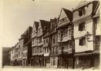 France Bretagne Lannion Place Du Centre Maisons Ancienne Photo Fougere 1880 - Photographs