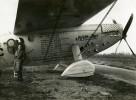 France Aviation Avion Joseph Le Brix à Istres Bleriot 110 Ancienne Photo Monsarrat 1935 - Aviation