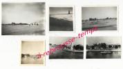 N°12-oct. 1945-6 Photos-A Bord Du Porte-avions Le Béarn-canal De Suez-sortie Du Canal-El Kantara - Guerra, Militari