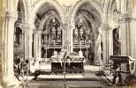 Ecosse Chancel La Chapelle Roslin Ancienne Photo Albumine Wilson GWW 1875 - Photographs