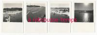 N°13-oct. 1945-4 Photos-A Bord Du Porte-avions Le Béarn-Ismaïlia - Guerre, Militaire
