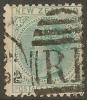 NZ 1882 4d Blue-green SSF SG 190 U #OI173 - Oblitérés