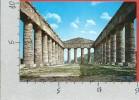 CARTOLINA NV ITALIA - SEGESTA (TP) - Interno Del Tempio - 10 X 15 - Siracusa