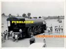 1955 - CAMION Pubblicitario Della FERRERO A Forma Di TRENO Locomotiva ALBA (Cuneo) Nutella Kinder - Camion, Tir