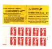 Carnet Briat 2fr30 Rouge YT 2630-C1 Avec Repère électronique Rouge à Gauche + Numéro De Nappe . Superbe , Voir Le Scan . - Carnets