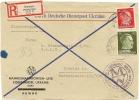 DR Besetzung Ukraine Reco Briefausschnitt Mif. Mi.8,14 Rowno N. Breslau (9) - Occupation 1938-45