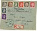DR Besetzung Ukraine Reco Brief Kirowograd 11.4.42 Mif. MI.1-8 N. Gräfenroda (10) - Occupation 1938-45