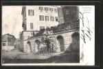 Cartolina Castellamonte, Piazza Del Municipio - Andere Steden