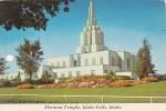 Mormon Temple Idaho Falls Idaho - Idaho Falls