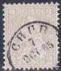 No 28 Oblitéré CHUR Le 7 Octobre 1865 - Oblitérés