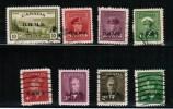 CANADA 1942-50, BOB. OHMS # 01-03-04-06-012-013-014-015. USED - Officials