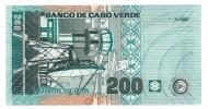 Cape Verde, 200 Esc. 2005, UNC,  FREE SHIP. TO USA. - Cape Verde