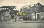 Cpa 78 Vélizy,  Mairie Et Ecoles, N° 2, Homme En Vélo..., Affranchie 1907 - Velizy