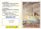 Petit Calendrier MESSAGERIES MARITIMES 1996 (offert Par La Poste) (PPP1284) - Calendari