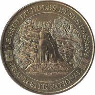 2002 - LE SAUT DU DOUBS ET SES BASSINS 1 - La Chute / MONNAIE DE PARIS - Monnaie De Paris