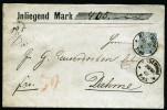 A3374) DR Wertbrief Von Radeburg 30.10.1882 Mit EF Mi.44 - Deutschland