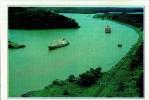 Z09 / FICHE PAYS DU MONDE FORMAT CPSM / CP - PANAMA - LA CANAL DE PANAMA - Géographie
