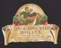 Etiquette De Vin  De Savoie  750 Ml - Cuvée Spéciale Mollex  - Thème Couple  - Maison Mollex à Corbonod (01)  -Années 60 - Coppie
