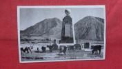 > Ecuador  RPPC  Monument =====   Ref 1987 - Ecuador