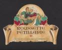 Etiquette De Vin Roussette Pétillante    - Thème Couple  - Maison Mollex à Corbonod (01)  -  Années 60 - Coppie