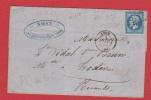 Lettre   //  De Lyon  // Pour Lodève //   2 Décembre 1862 - 1849-1876: Klassik