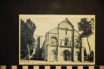 CPA  16,  Charente, CHATEAUNEUF, L'église , Façade - Chateauneuf Sur Charente