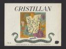 Etiquette De Vin De Table   -  Cristillan  - Thème Couple Danse  -   Lagarde - Parejas