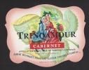 Etiquette De Vin Anjou Rosé De Cabernet -Trinqamour  - Thème Couple - A. Besombes à Saint Hilaire Saint Florent (49) - Coppie