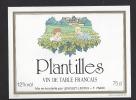 Etiquette De Vin De Table   -  Plantilles - Thème Couple Travail De La Vigne  -  Lenglet Lecoq à 76400 - Couples