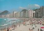 BRESIL CPM RIO DE JANEIRO, 1964, La Plage De Copacabana - Rio De Janeiro