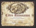 Etiquette De Vin Des Côtes Roannaises    - Thème Couple -  Pierre Gaume  è  Lentigny (42) - Couples