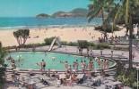 BRESIL CPM GUARAJA, 1964, Piscine Du Grand Hotel - São Paulo