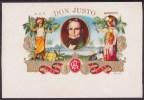 T117 TOBACCO. CIRCA 1930. LEBEL FABRICA DE TABACOS DON JUSTO AMBERES BELGIUM. - Labels