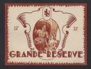 Etiquette De Vin De Table -  Grande Réserve   - Thème Couple -  Année 60 - Coppie