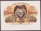 T118 TOBACCO. CIRCA 1930. LEBEL FABRICA DE TABACOS FLOR DE GOMEZ. - Labels