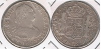 BOLIVIA ESPAÑA CARLOS IIII 4 REALES 1800 POTOSI PLATA SILVER W - Bolivia