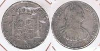 BOLIVIA ESPAÑA CARLOS IIII 8 REALES 1803 POTOSI PLATA SILVER W - Bolivia