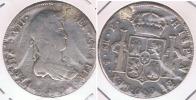BOLIVIA ESPAÑA FERNANDO VII 8 REALES 1814 POTOSI PLATA SILVER W - Bolivia