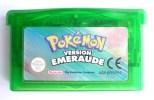 JEU NINTENDO GAME BOY  ADVANCE -  POKEMON VERSION EMERAUDE (1) - Nintendo Game Boy