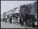 LOCOMOTIVE BIG BOY ETATS UNIS 1941 .Train Locomotive . Transport Ferroviaire   .Fiche Illustré Format 19,5 X 16 - Trains
