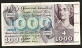 [CC] SVIZZERA / SUISSE / SWITZERLAND - NATIONAL BANK - 1000 FRANCS / FRANKEN (1957) TOTENTANZ - Svizzera