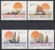 Macau MiNr. 528/31 ** Philakorea 84 Schiffe - 1999-... Sonderverwaltungszone Der China
