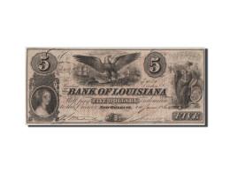 [#44579] Etats-Unis, Obsolètes, Nouvelle-Orléans, Bank Of Louisiana, 5 Dollars 14.6.1862 - Etats-Unis