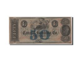 Etats-Unis, Obsolètes, Nouvelle-Orléans, Canal & Banking Co., 50 Dollars 18__ (N - Bankbiljetten
