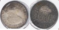 PERU ESPAÑA CARLOS IIII  2 REALES 1793 LIMA PLATA SILVER W - Perú