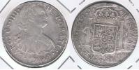 PERU ESPAÑA CARLOS IIII  8 REALES 1794 LIMA PLATA SILVER W - Perú